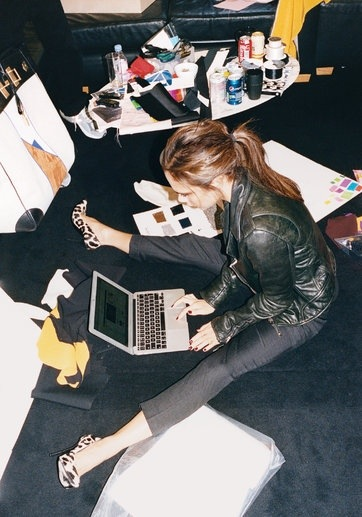 NY Times T Style: Victoria Beckham, Working Girl