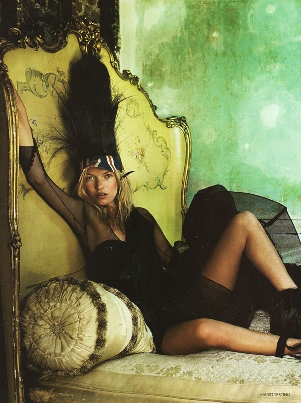 UK Vogue Oct 2008: My Favourite Magazine Editorial