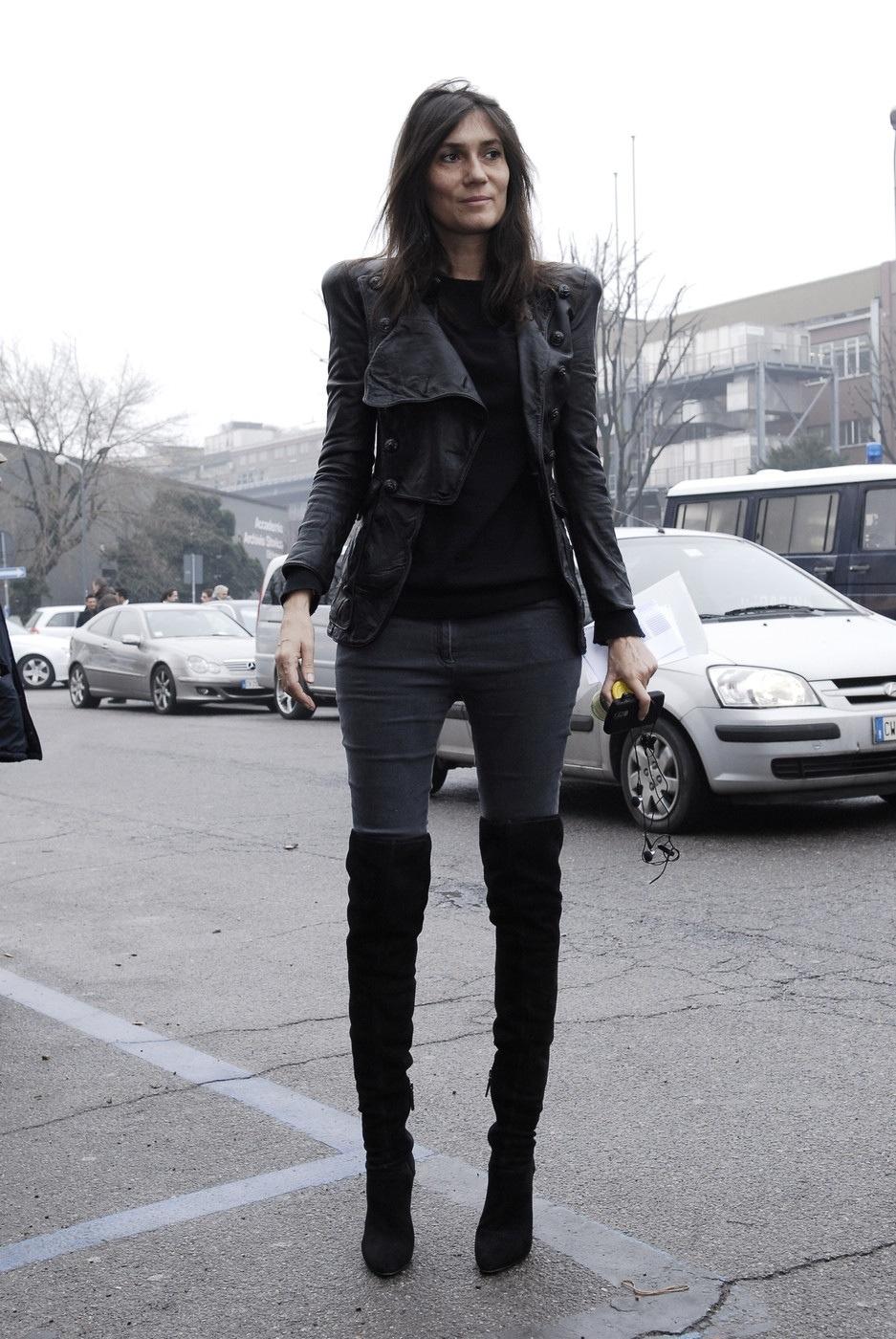 Emmanuelle Alt Flat Shoes