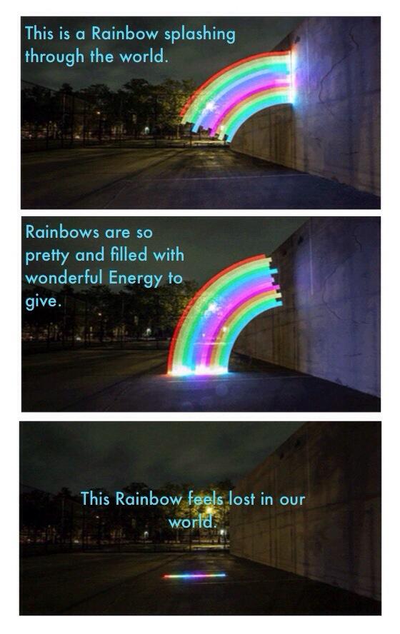 Splashing Rainbows