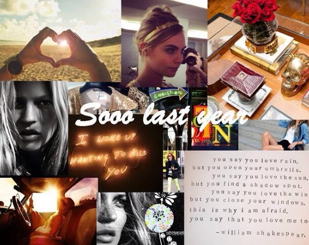 Sooo Last Year…Since Last Year