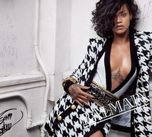 FACE OF BALMAIN SS14: RIHANNA
