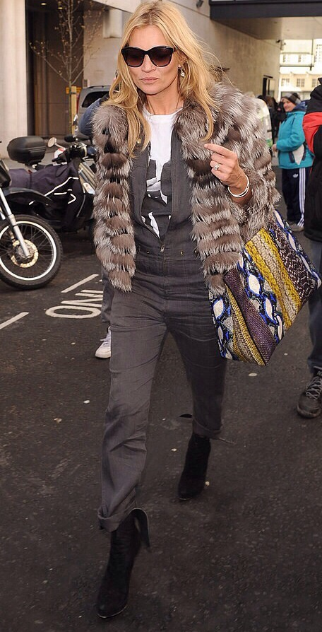 StreetStyle: Kate Moss Rock Chic