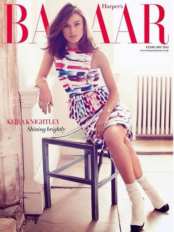 Harpers Bazaar UK February