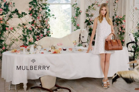 Cara At A Mulberry Tea Party