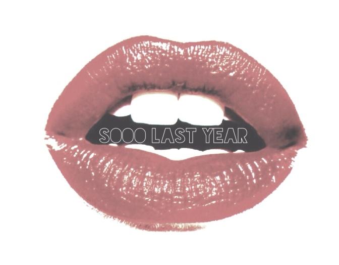 SOOO LAST YEAR * S.L.Y *
