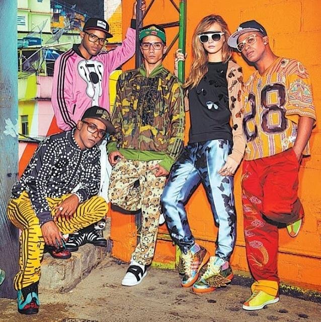 Cara: Vogue Brasil + Topshop