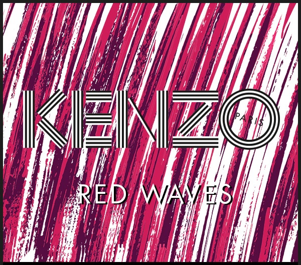 Kenzo Red Waves SS14
