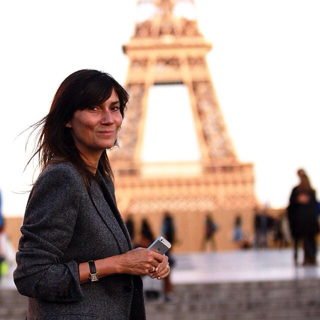 Emmanuelle Alt @ Paris & Milan Fashion Week